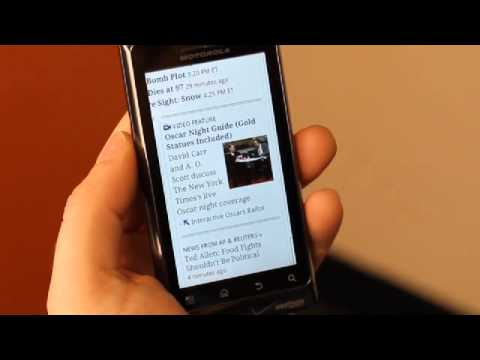 Thumb Video of Firefox 4 Mobile