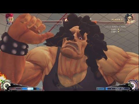 Hagejin (Hugo) vs Sabo☆hani (Viper) - USF4 Matches *1080p*