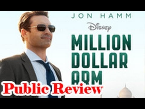 Million Dollar Arm Public Review | Hollywood Movie | Jon Hamm, Aasif Mandvi, Suraj Sharma