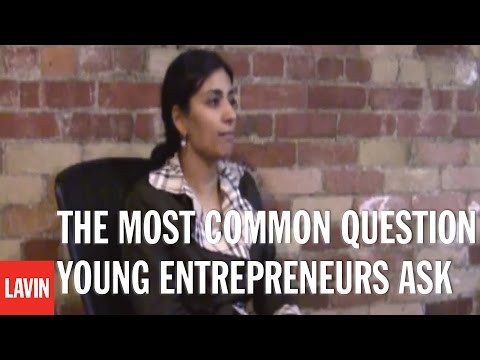 Live at Lavin - MANJIT MINHAS: The Most Common Question Young Entrepreneurs Ask