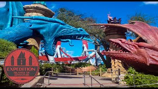 The Closed History of Dueling Dragons and Merlinwood | Expedition Islands of Adventure
