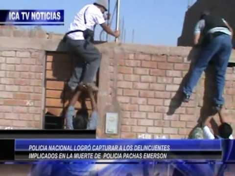 CAPTURAN DELINCUENTES QUE ASESINARON A POLICIA