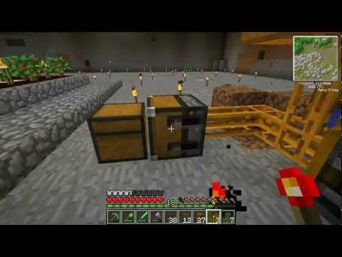 Etho MindCrack FTB - Episode 13: Crazy Bee Logic