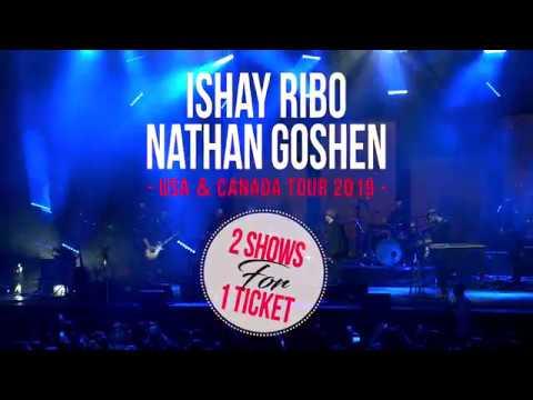 Nathan Goshen & Ishai Ribo- USA, Canada Tour 2019
