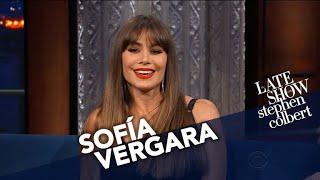 Sofía Vergara Gives Stephen Her Underwear