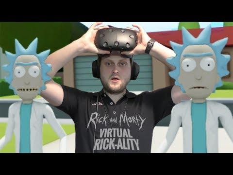 КЛОН, КОТОРЫЙ ВСЕХ СПАС ► Rick and Morty: Virtual Rick-ality #4