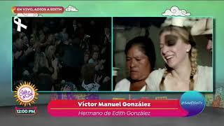 Famosos llegan a darle el último adiós a Edith González | Sale el Sol