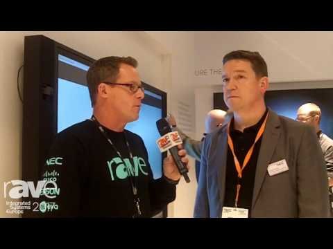 ISE 2017: Gary Kayye and Simon Jackson of NEC Display Talk About New Products, New Technology