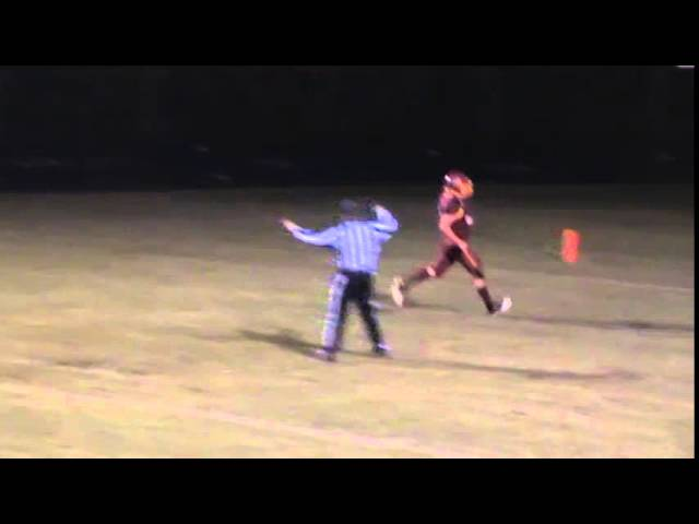 10-3-14 - Kyle Rosenbrock goes the distance from 44 yards out (Brush 13, Platte Valley 7)
