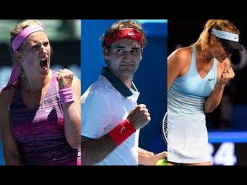 Federer & Sharapova Wins US Open 2014