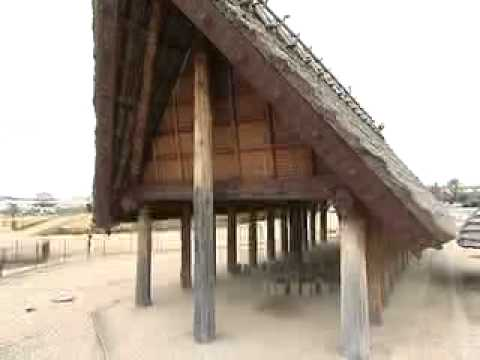 池上・曽根遺跡(大阪府・和泉市) - 東西17メートル、南北7メートルの高床式建物跡などのキャプチャー
