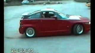 Alfa Romeo SZ drift