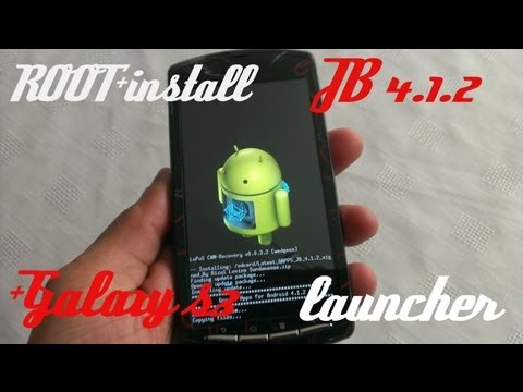 XPERIA PLAY TUTORIAL ROOT+INSTALL MY OWN ROM+GALAXY S3 LAUNCHER