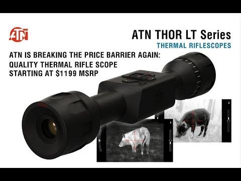Affordable Thermal Imaging from ATN: SHOT 19  Gun Talk