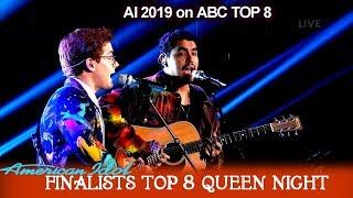 "Alejandro Aranda & Walker Burroughs Duet ""Mrs Robinson"" Own Arrangement    American Idol 2019 Top 8"