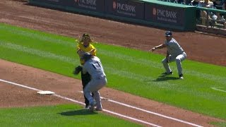MIL@PIT: Counsell gets ejected arguing a strange play
