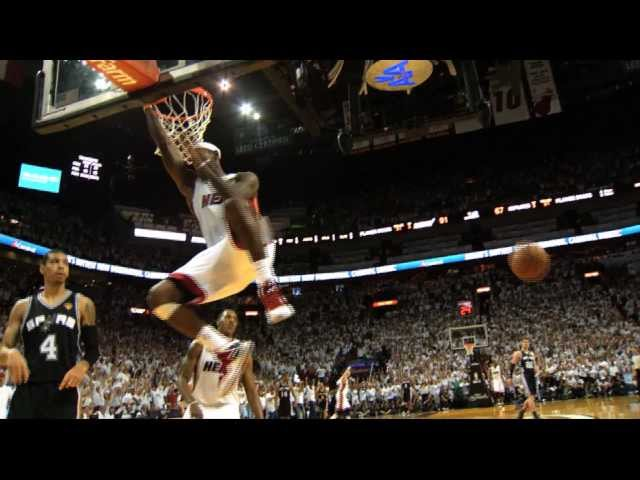 Phantom: Best of Game 2 of the 2013 NBA Finals