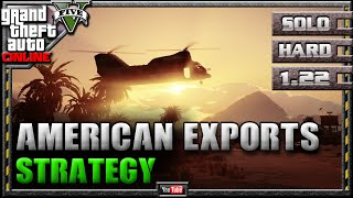 GTA 5 Online - American Exports 1.22 - SOLO HARD - Mission Strategy Guide (GTA V) 1.21 1.20