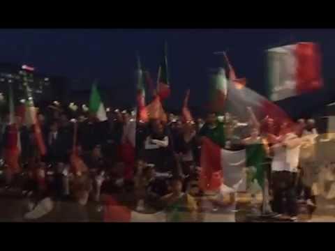 MARO' LIBERI! Gioventù Nazionale Torino e FdI occupano il ponte sul Po