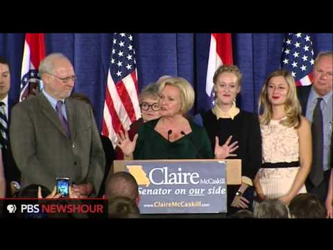 Claire McCaskill Holds On to her Senate Seat, Beating Akin