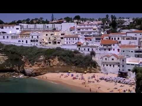 Praia do Carvoeiro Portugal (HD)