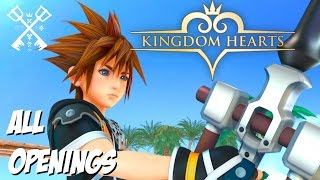 Kingdom Hearts 15th Anniversary All Openings 1 5 2 5 2 8