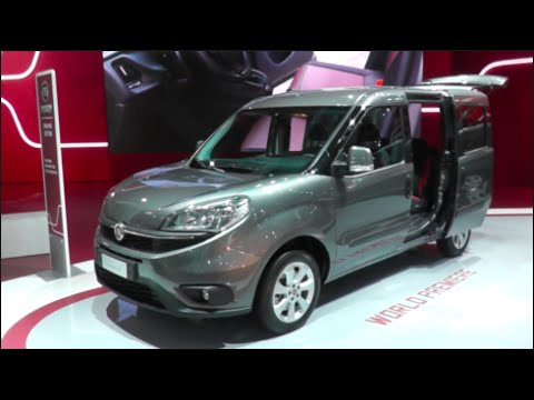 Fiat Doblò Combi 2015 In detail review walkaround Interior Exterior