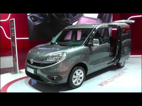 Fiat Doblò Combi 2015 In detail review walkaround Interior Exterior