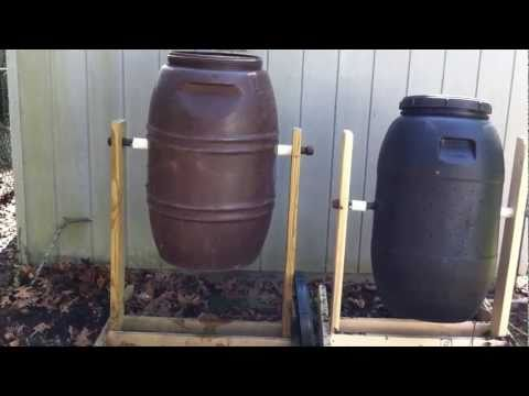 How To Build a Homemade Compost Tumbler