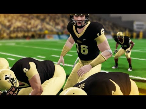 First Start At QB! NCAA 14 Road To Glory #5