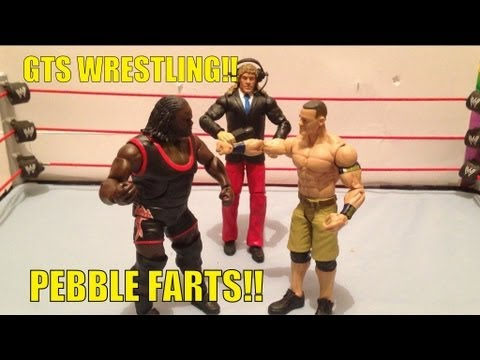GTS WRESTLING: 2 Huge CHAMPIONSHIP matches!! WWE action figure matches parody figures animation