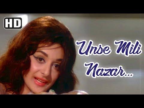 Unse Mili Nazar - Rajendra Kumar - Saira Banu - Jhuk Gaya Aasman...
