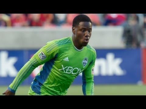 GOAL: Eddie Johnson blasts ball past Fernandez | Seattle Sounders vs FC Dallas