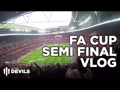 FA Cup Semi Final VLOG! | Everton vs Manchester United