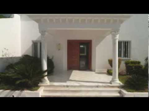 Villa vente soukra tunis tunisie youtube for Decoration jardin tunis