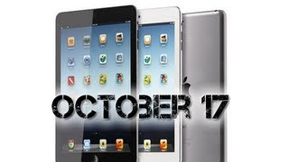 iPad Mini In Production Event October 17th