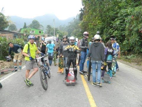 Street Luge, Longboarding y Drift Trike en la IX Valida de Carros Esferados 2013
