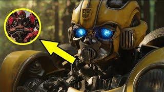 Avances de Transformers 6 Bumblebee The Movie Parte 12 Análisis al Trailer #2