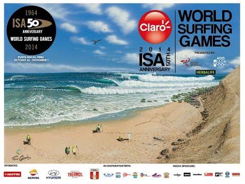 ISA 50th Anniversary World Surfing Games - Day 7 - English