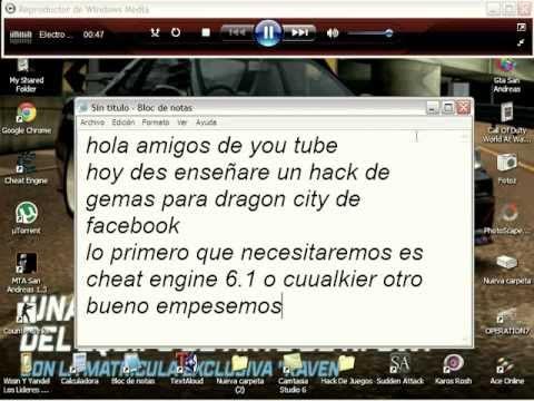 Hack De Gemas Para Dragon CityNo Sirve Cabrones xD Vean Este Que Les