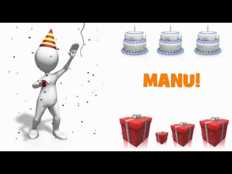 HAPPY BIRTHDAY MANU!