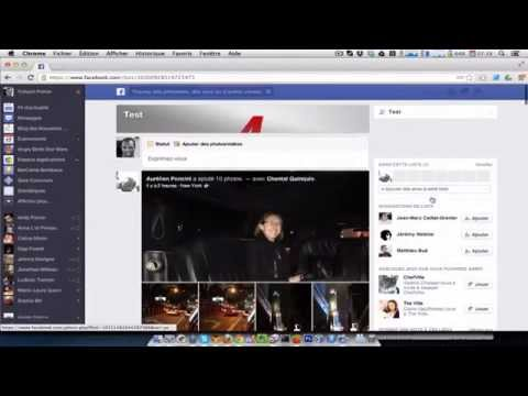 Screencast du nouveau News Feed (Fil d'actualités) de Facebook
