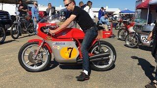 Racing the MV Agusta 500 four at NJMP