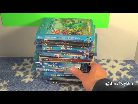 Bin & Jon's 2013 Black Friday Blu-Ray Haul! by Bin's Toy Bin