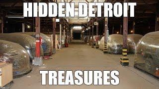 1963 Mustang II Concept!  Hidden Detroit Treasures in Warehouse!