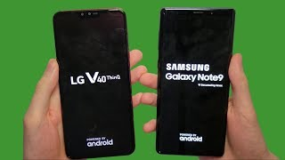 LG V40 vs Galaxy Note 9 Speed Test, Cameras & Speakers!