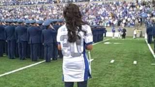 Bettina National Anthem Usafa