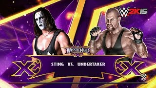 WWE 2K15 Fantasy Showdown: Sting vs. Undertaker - NEXT GEN