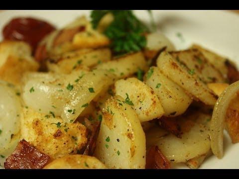Kari Kari Garlic Potato Recipe (287 Kcals) カリカリガーリックポテト video