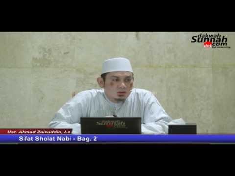 Sifat Sholat Nabi - Bag. 2 (LIVE STREAMING)